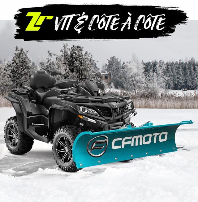 CHOISIS ton VTT ou ton Côte à Côte CFMOTO NEUF !