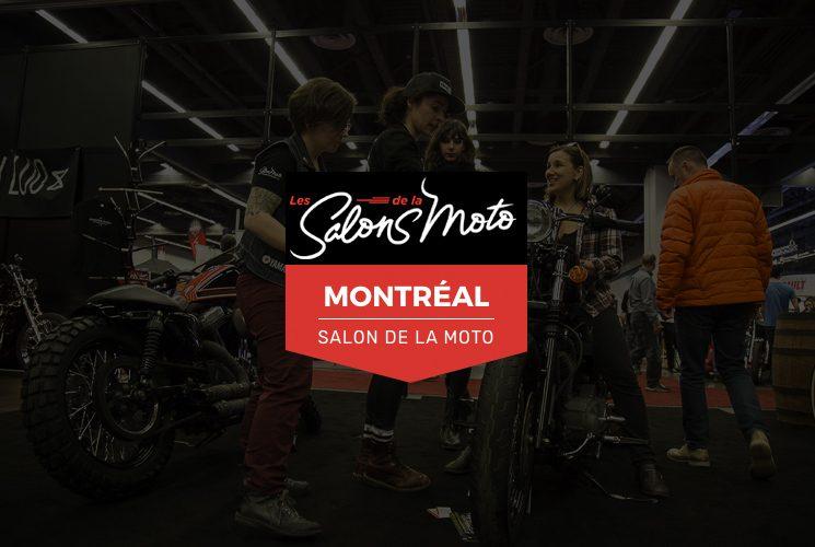 Découvrez le Salon de la Moto de Montréal du 23 au 25 février