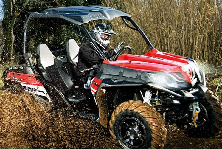 ZForce 800 EX EPS, the side-by-side generously equipped for a small price