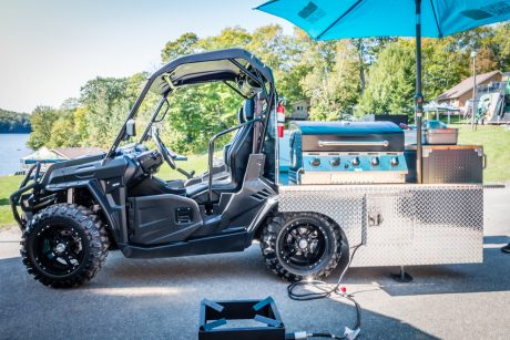 CFMOTO UFORCE 500  GRILL FORCE 2018