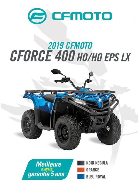 CFMOTO CFORCE 400 HO  2020