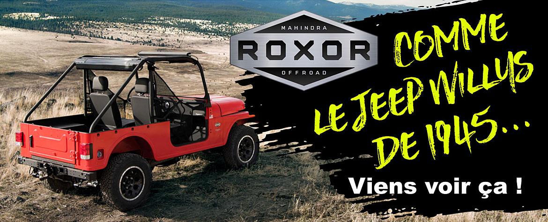 Roxor Jeep Willys 2019