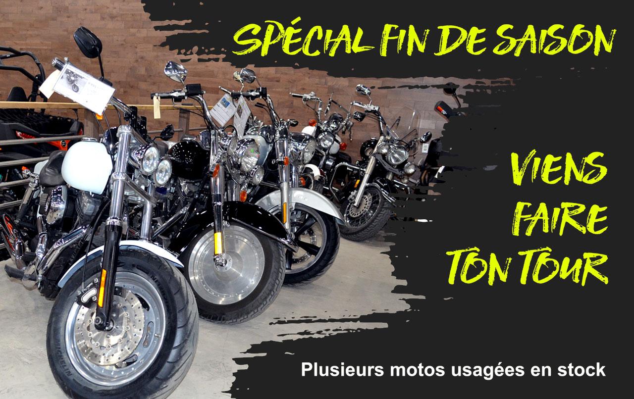 Achat et vente de moto usagée